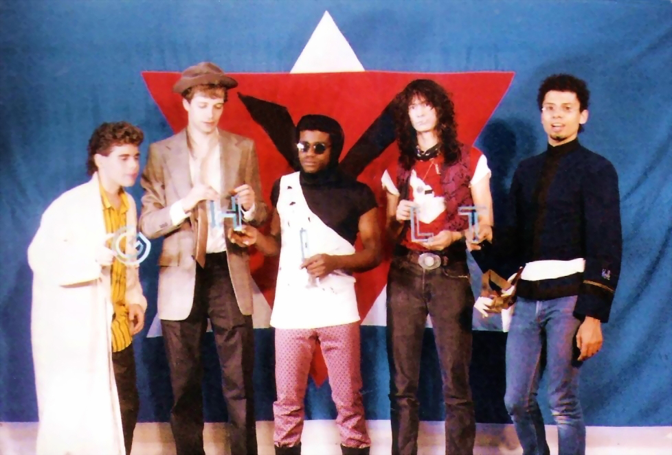 Band shot at Chamber -1986
