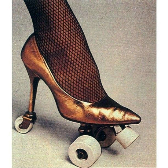 """…These skates were made for skatin' and that's just what they'll do…"""
