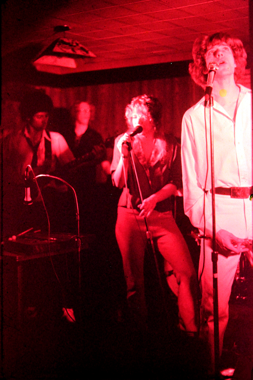 Robert Lowden, Eric Scheda, Kim Watts, Patt Connolly. Parousia – Plant 6, Niagara Street, 1980
