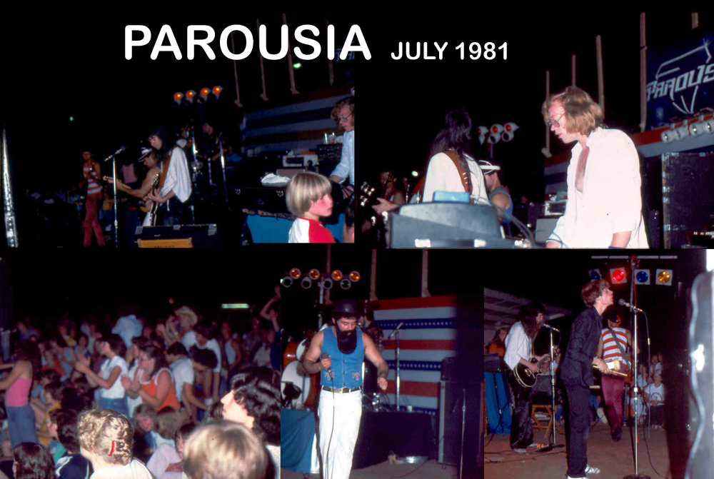 Parousia - RIVERSIDE PARK July 1981