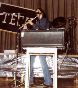 Patt Connolly with Flute & Moog Sonic-Six Synthesizer - May 19, 1978