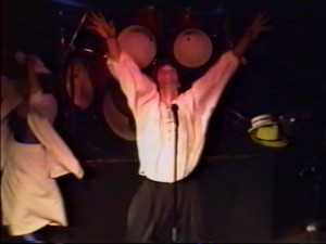 Patt Connolly - 'Virtual Reality' show at the Troubadour.  May 24, 1991
