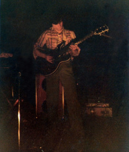 John McGovern - Lead Guitar - Polish Cultural CTR - March 1978