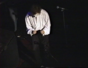 Patt Connolly - 'Virtual Reality' show at the Troubadour.  Sept. 21, 1991