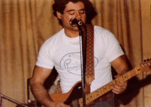 Barry C annizzaro - Lead Vocals and Guitar - McVan's November 22, 1978