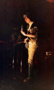 John McGovern Lead Guitar - Polish Cultural CTR - March 1978