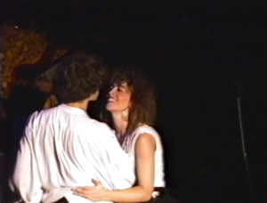 Patt Connolly & Claude - 'Virtual Reality' show at the Troubadour.  Sept. 21, 1991