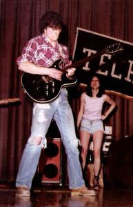 John McGovern & Sharon Pierce  - Hutch Tech, May 1978