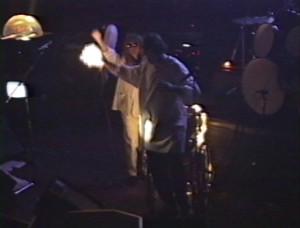 Patt Connolly - 'Virtual Reality' show at the Troubadour.  Halloween 1991