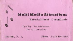 First booking agent- Phillip Christopher of Multi-Media Attractions