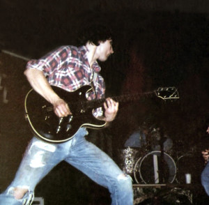 John McGovern guitarist gone wild - Hutch Tech May 1978
