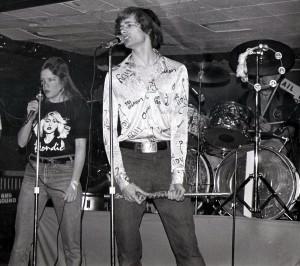 Patt Connolly and Kim Watts at McVan's - June 1979