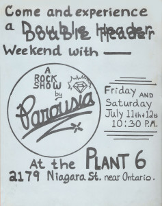 Plant 6 (Niagara Street) July 11th & 12th 1980