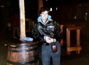 Gerry Cannizzaro at the Texas Bar, Burlington, VT - January 09, 1982