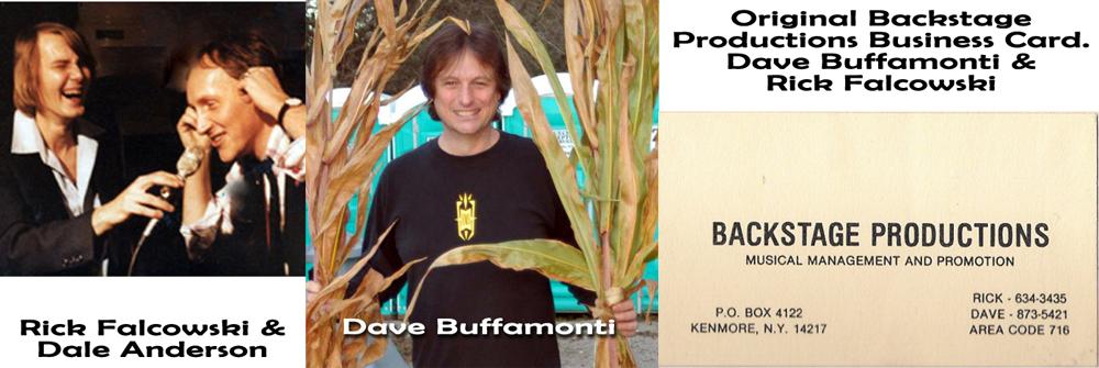 Rick Falcowski & Dave Buffamonti - Buffalo Backstage productions