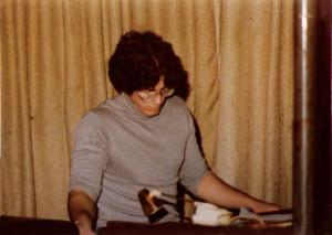Dave Maltbie, McVan's - Wurlitzer Organ. Nov.1978