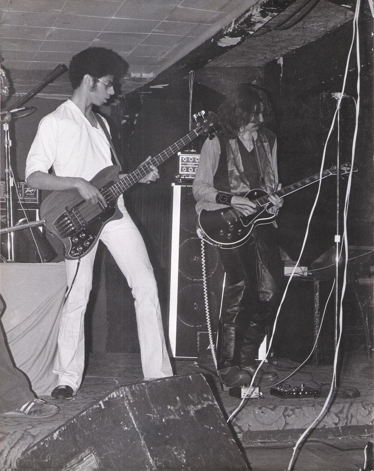 Bob and Garth of Parousia at McVans
