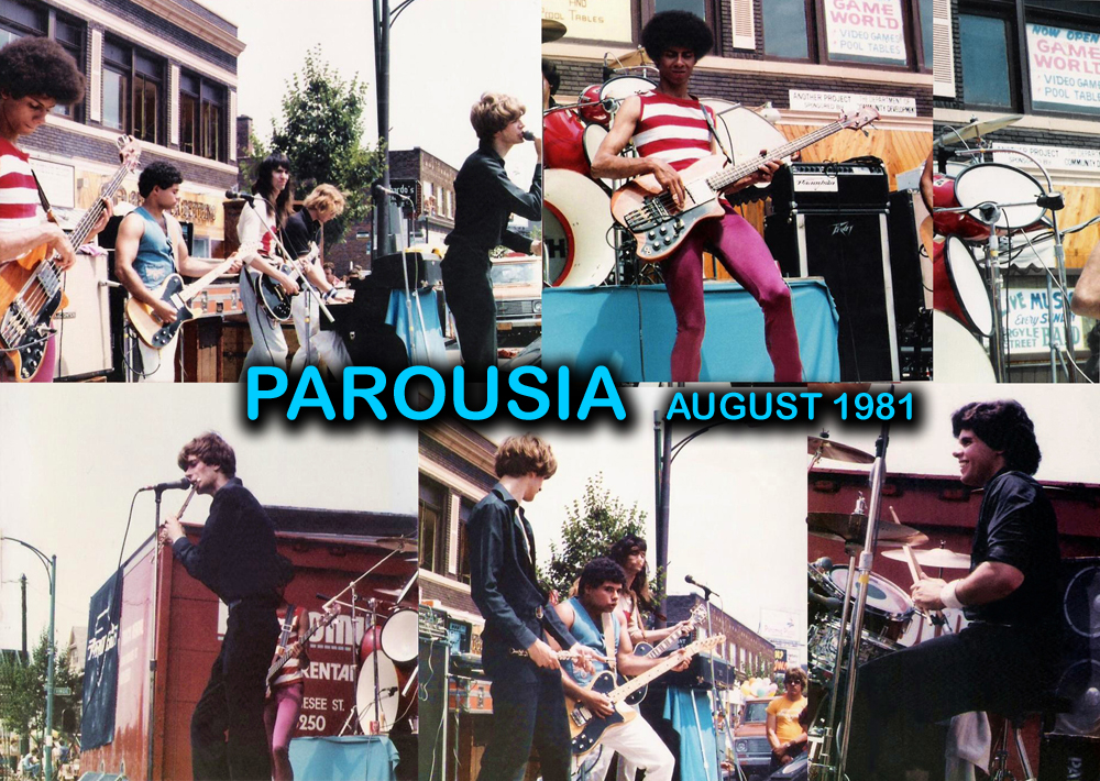 Parousia - HERTEL HAPPENING August 1981