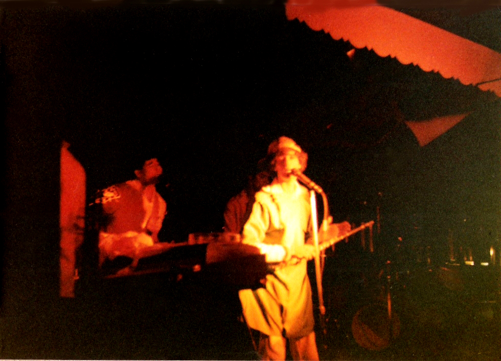 "Parousia performs their original song ""Myron"" at the Plant 6, September, 1981"