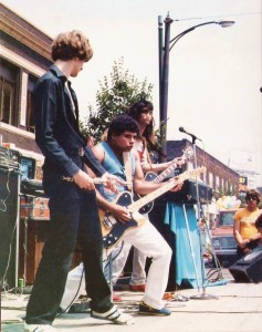 Barry Cannizzaro  at the Hertel Happening  - August 1981