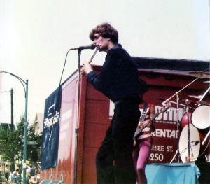 Patt Connolly at the Hertel Happening August 01, 1981