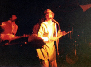 Patt Connolly as 'MYRON' at the Plant 6, Sept. 4 - 5th 1981
