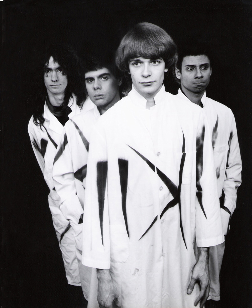 Psychedelic-rock band hair