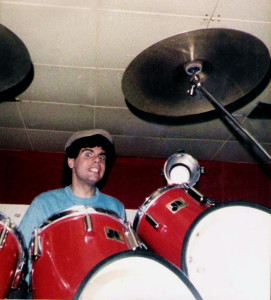 Gerry North Cannizzaro - first rehearsal at The Chamber - May 1984