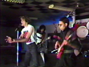 "Parousia clip from the 'KEEP RUNNING' video - 1984 - ""Dry your eyes, tell the truth"".."