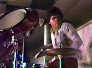 Gerry North - 'Keep Running' video taping - August 1984