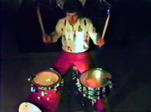 Gerry North - Keep Running video taping - August 1984
