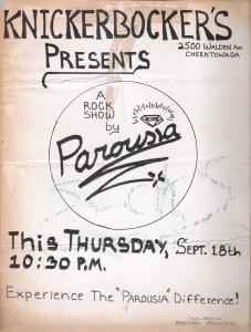 Knickerbockers 09.18.1980