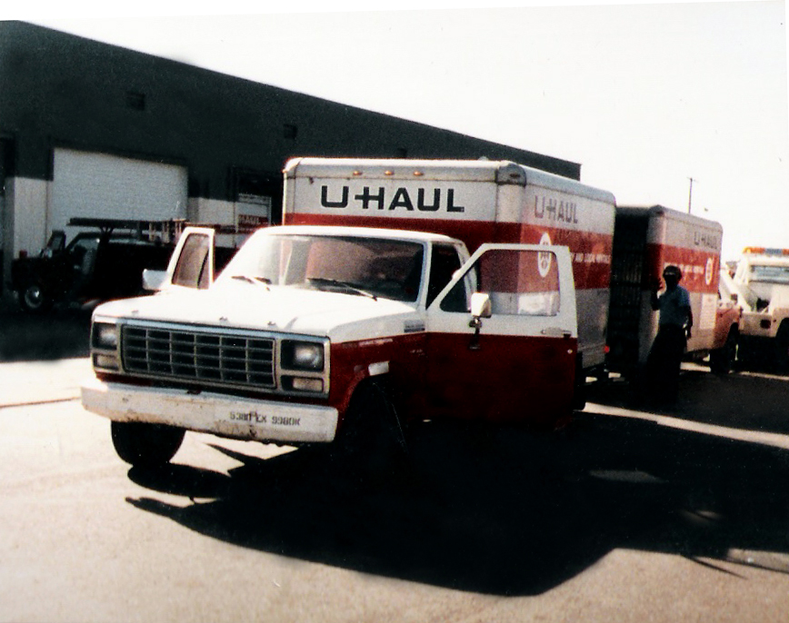Fun, fun, fun - transferring the contents from U-haul 1 into U-haul 2