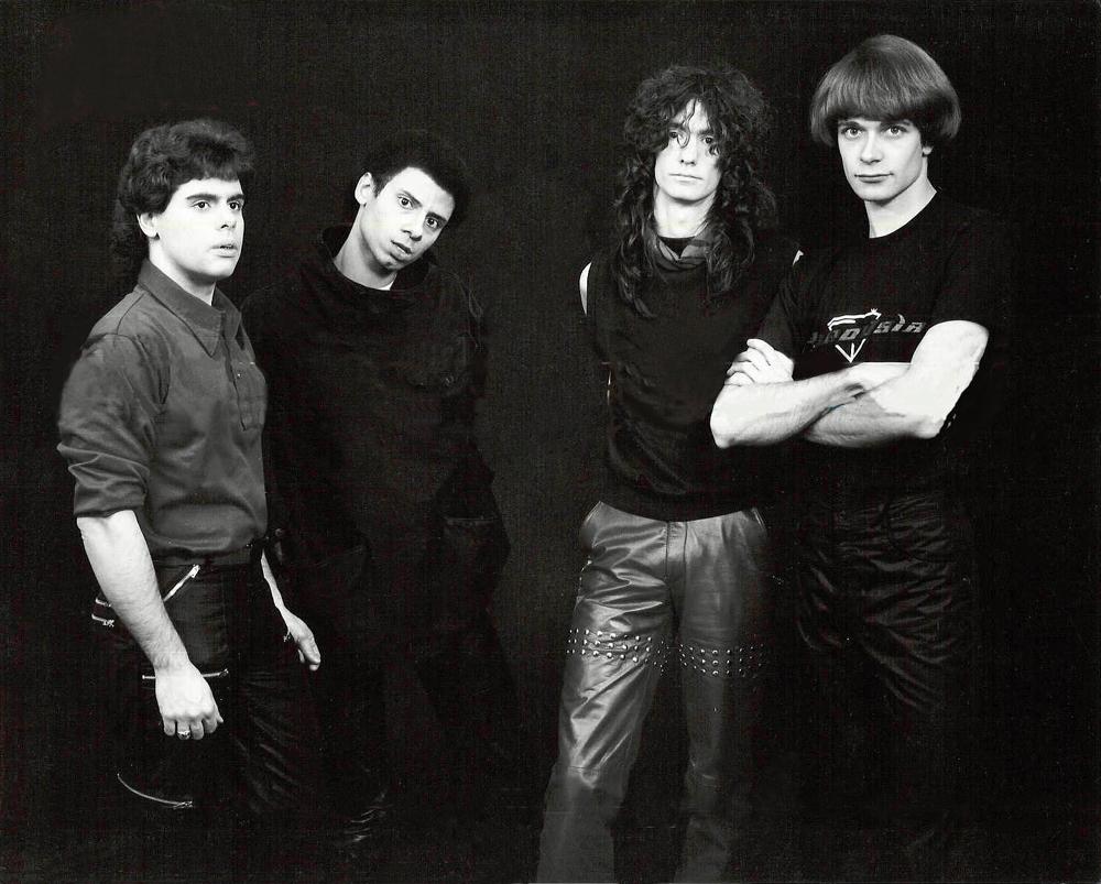 Alternative progressive rock hair