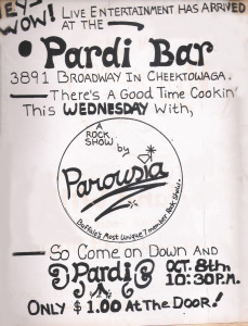 The Pardi Bar, 3891 Cheektowaga, NY. 10.08.1980