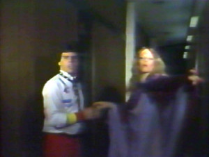 The Sorceress shows Gerry the way - Sept 1984