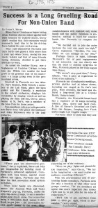 Parousia- Student Prints Dec. 17, 1976