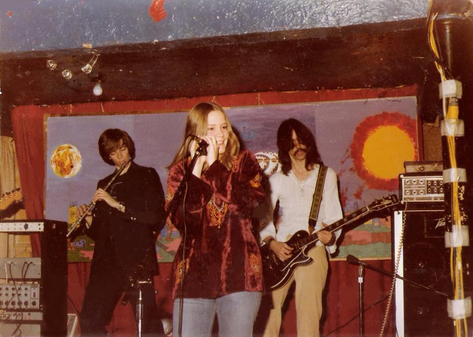 The Center Line up of Parousia at McVan's 11.22.1978