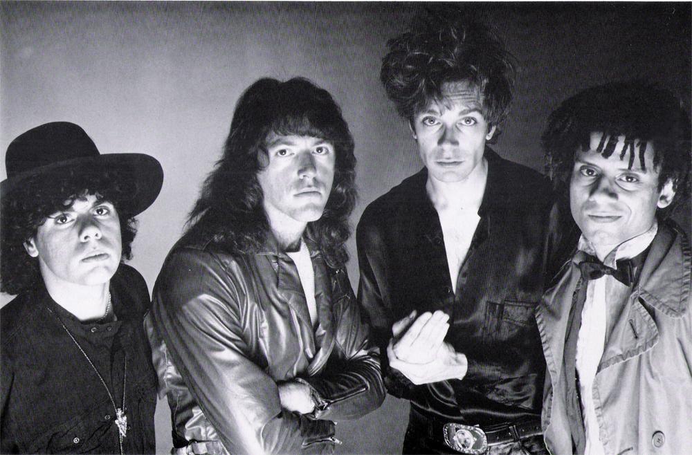 Urban rock band hair