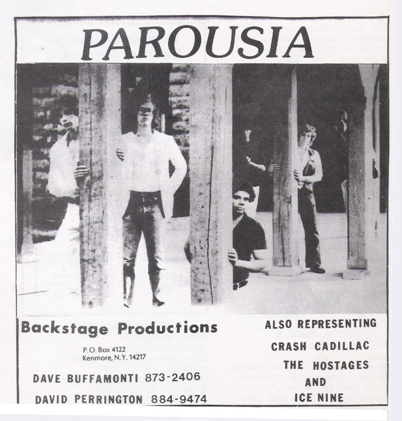 Buffalo Backstage advertisement - August 1st, 1981