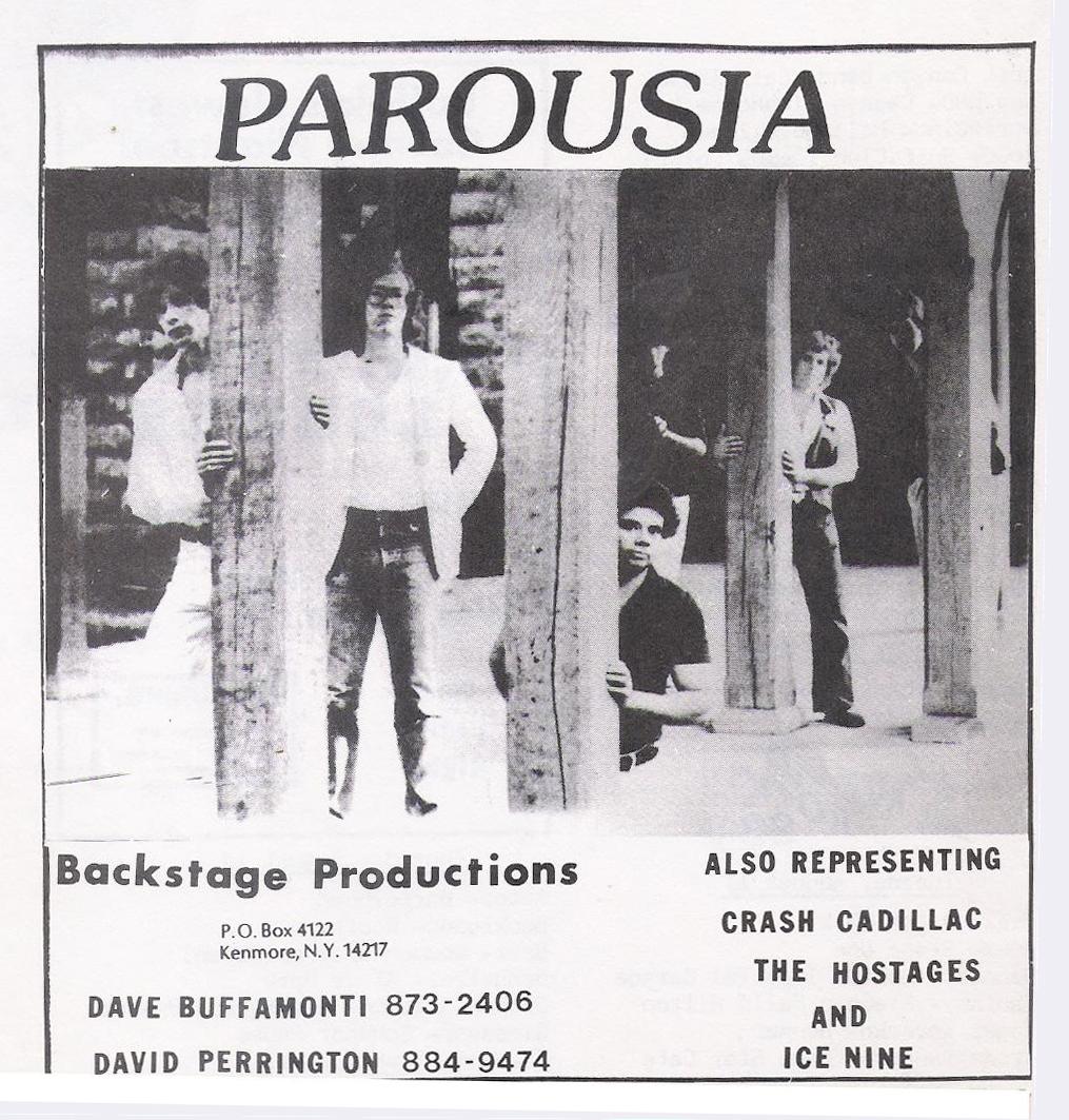 Buffalo Backstage August 1st, 1981