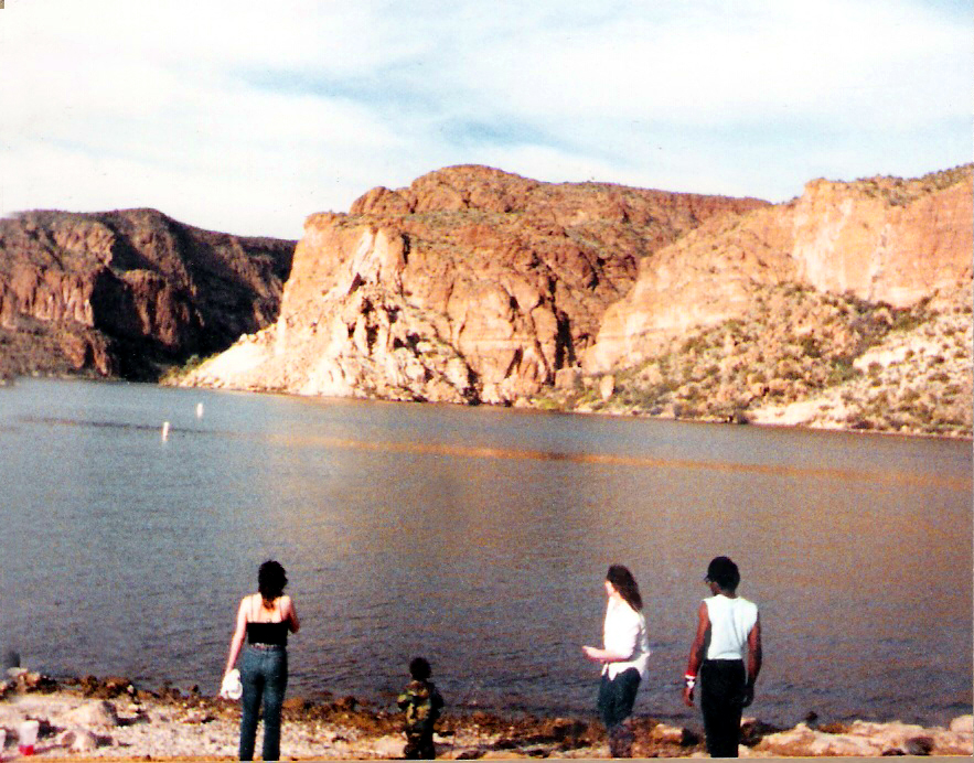 Canyon Lake, about 40 miles east of Phoenix
