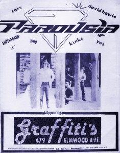 Parousia at Graffiti's June 1981