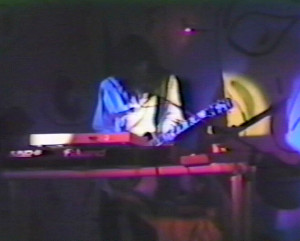 Garth Huels at the Plant 6 - Art & Science show - Sept. 1985