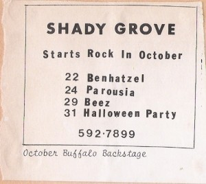 Shady Grove 10.24.1981