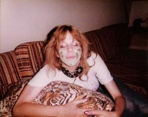 A goodnight kiss from Debbie Sekera in Dallas TX Sept 1984