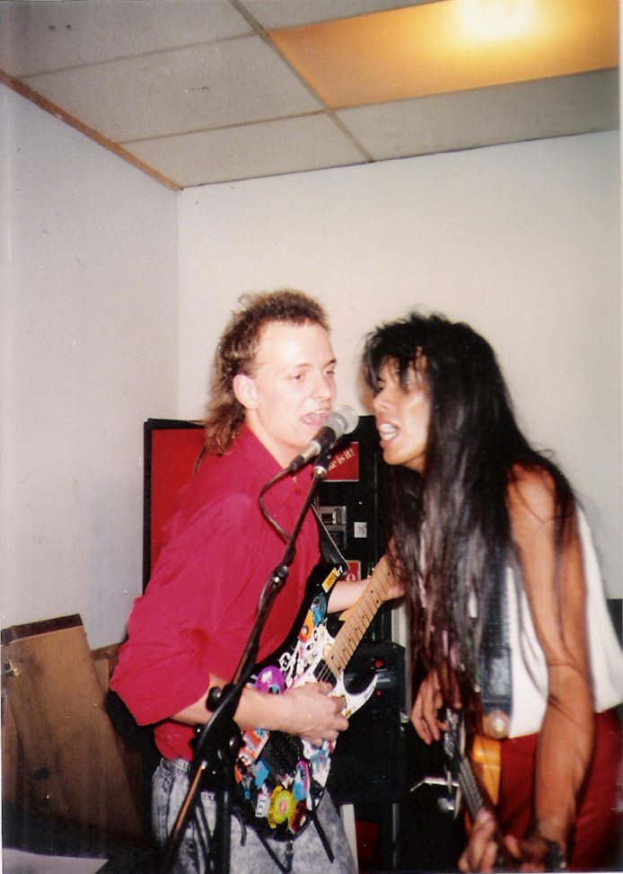 Guitarist Dudley Taft and bassist Gary Lee