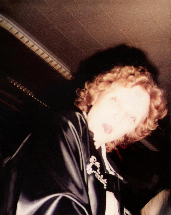 Marcia Miller with attitude -Loft Studios Feb. 1984