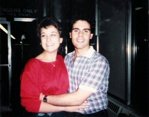 Kim Montesano (Wardrobe) & Gerry Cannizzaro, Oct 1985