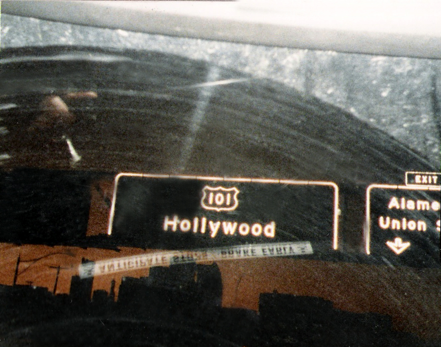 Now entering Hollywood...